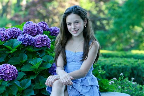 Portrait Of A 10 Year Old Girl Bruce Barone