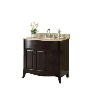 how to put up a backsplash in the kitchen 37 in w x 35 in h x 22 1 2 in d vanity in espresso with 9929