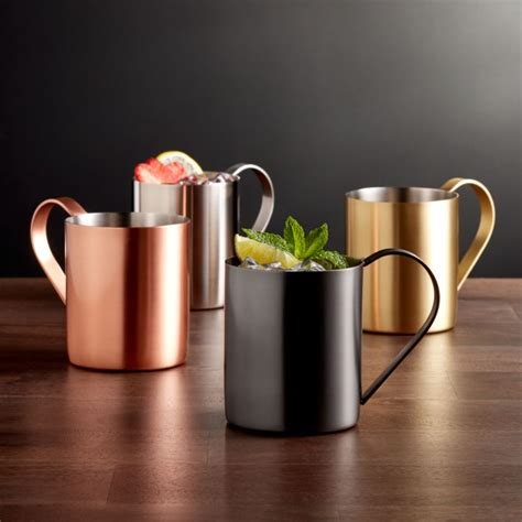moscow mule mugs crate  barrel