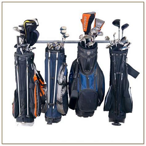golf bag holder for garage stand up shower dimensions