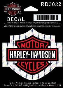 Harley Davidson Aufkleber : harley davidson aufkleber bar shield refractive s im ~ Jslefanu.com Haus und Dekorationen