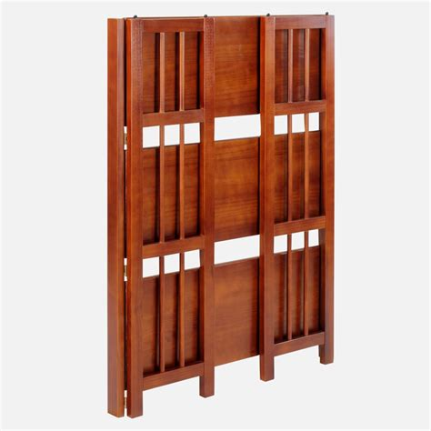 27 Wide Bookcase by Bisonoffice 3 Shelf Folding Stackable Bookcase 27 5 Quot Wide