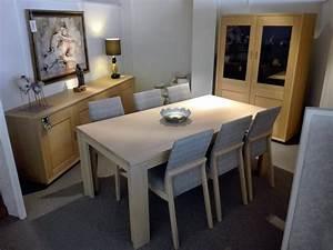 salle a manger en chene massif fabrication belge With salle a manger rose