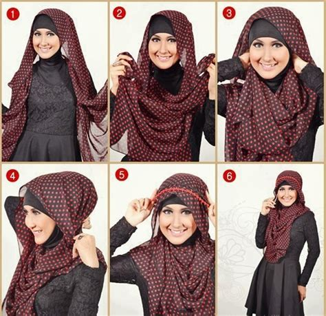 tutorial hijab kebaya  ninja