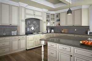 Signature Vanilla Glaze - Ready To Assemble Kitchen
