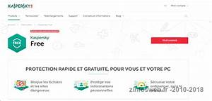 Antivirus En Ligne Kaspersky : kaspersky free un excellent antivirus gratuit zinfosweb ~ Medecine-chirurgie-esthetiques.com Avis de Voitures