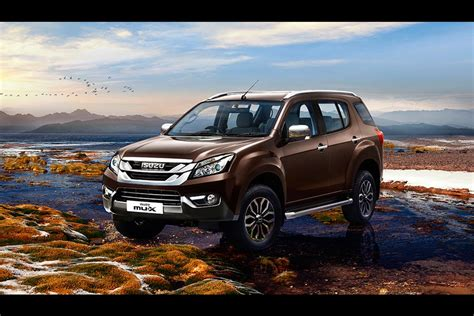 The model range is available in the following body types starting from the engine/transmission specs shown below. The tiger-inspired Isuzu mu-X SUV launched in India | AUTOBICS