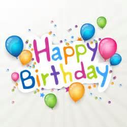 Free Happy Birthday Balloons