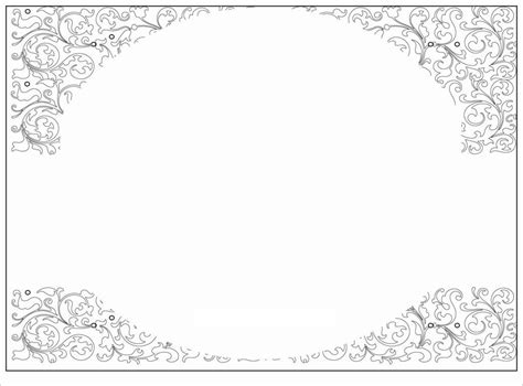 blank invitation templates   word blank baby