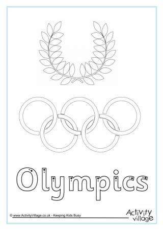 olympic handwriting worksheets