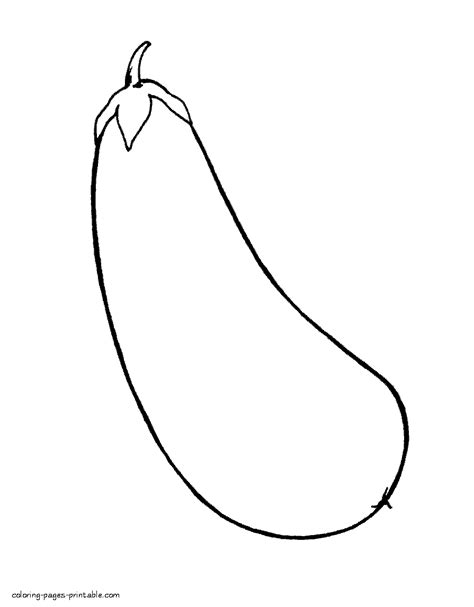 Coloring Eggplant by Toddler Printable Coloring Pages Eggplant Coloring