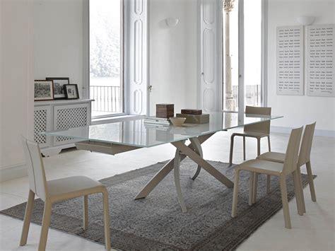 bontempi casa artistico tavolo in legno e vetro by bontempi casa