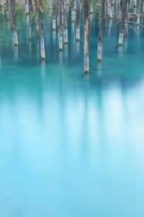 Biei Hokkaido Blue Pond Japan