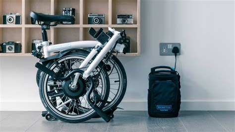 Brompton Launches First Battery-powered Version Of Its