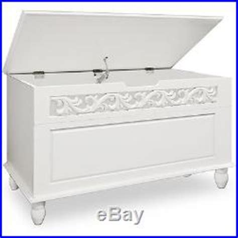 white storage trunk white wooden chest trunk sideboard large storage laundry 1061