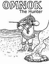 Coloring Bow Hunting Arrow Pages Hunter Sheet Sky Fun sketch template