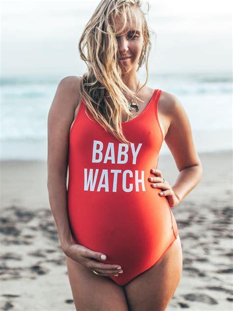 maternity  piece swimsuits  popsugar moms