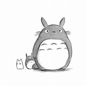 another cute totoro drawing!   Studo Ghibli :)   Pinterest ...