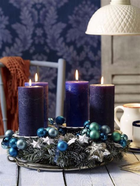 creative christmas decoration diy advent wreath ideas