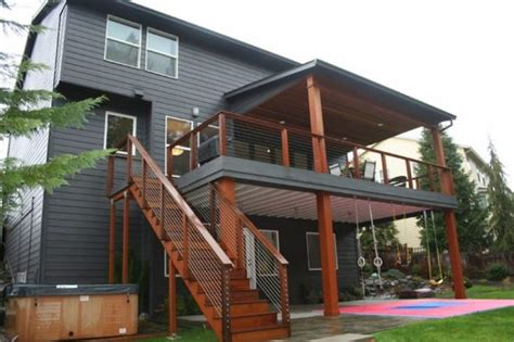design second best 25 second story deck ideas on