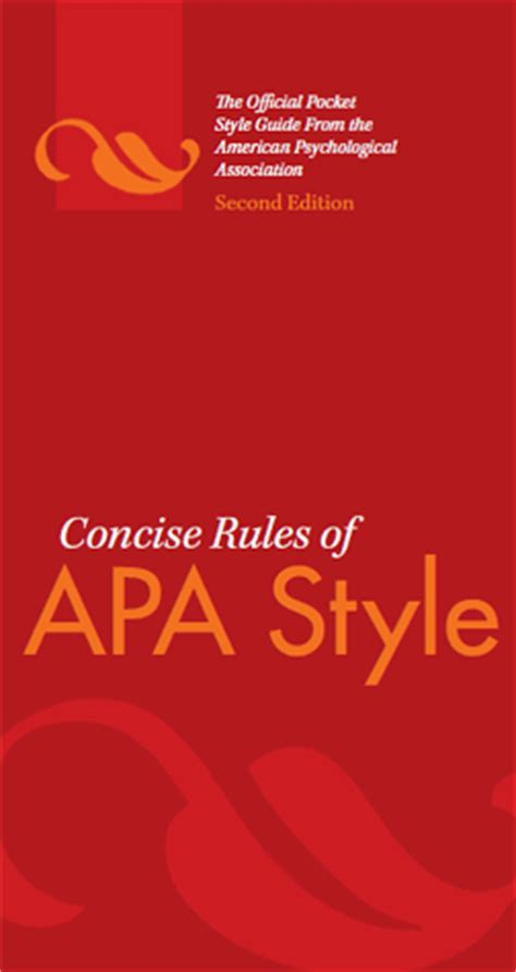 concise rules   style sixth edition