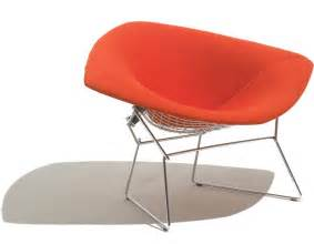 New Rocking Chairs by Bertoia Large Diamond Chair With Full Cover Hivemodern Com