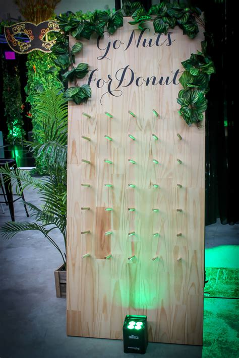 donut wall hire feel good  melbourne