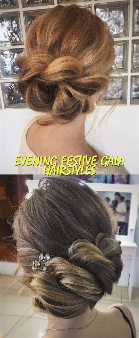 evening festive gala hairstyles good house wife