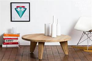 Table Bois Brut : table basse bois brut ~ Teatrodelosmanantiales.com Idées de Décoration