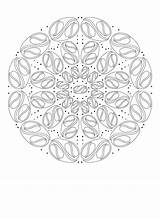 Coloring Yang Yin Mandala Printable Pisces Crazy Healing sketch template