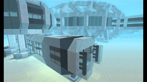 minecraft underwater base airlock youtube