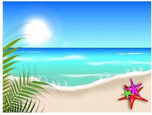 Free summer beach border clipart free vector download ...