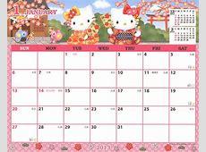 New Sanrio Printable Calendar Free Printable Calendar
