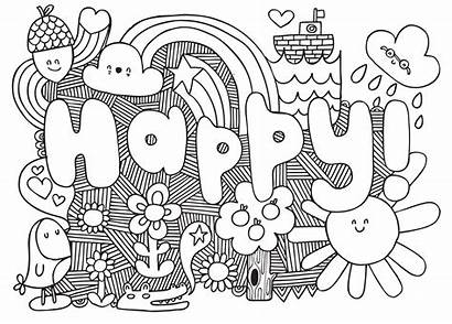 Coloring Pages Teens Pattern