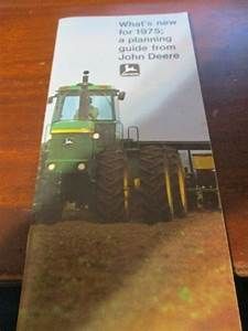 John Deere  U0026quot What U0026 39 S New For 1975 A Planning Guide From John