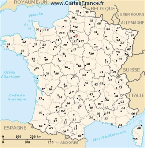 Carte Departement Parisien by Carte Plan Departement De 75