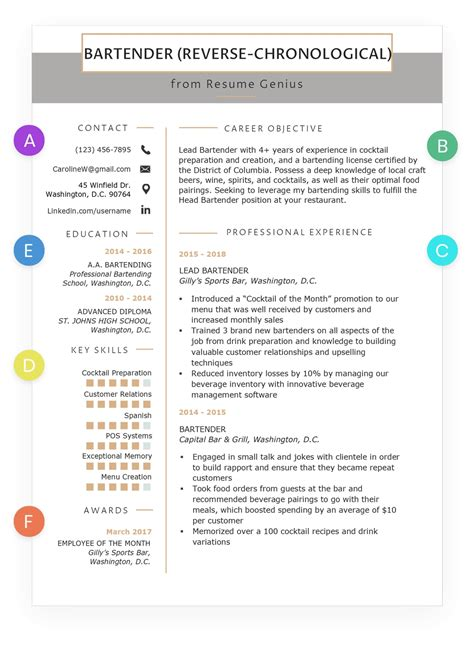 Chronological Resume Guide by Professional Chronological Resume Template Qualads