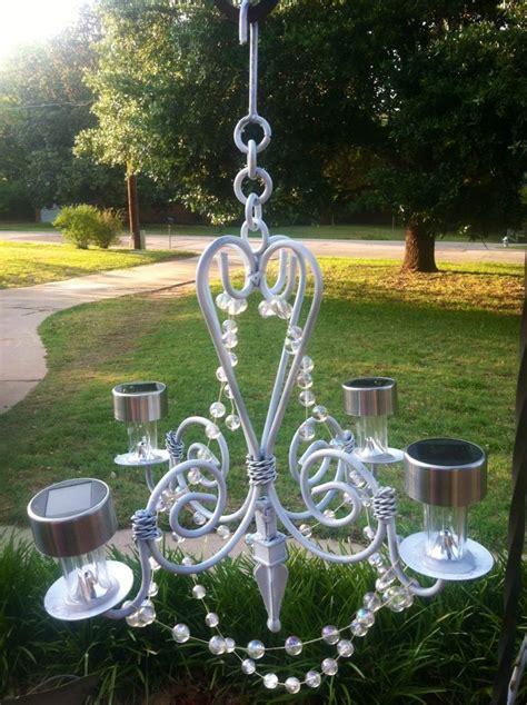 backyard elegance   outdoor chandelier    saratoga