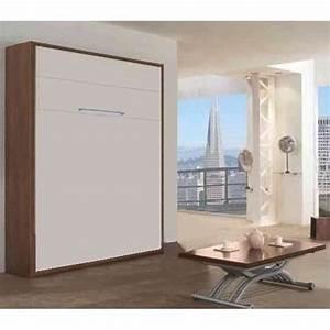Lit Dans Armoire : achat armoire lit escamotable table de lit ~ Premium-room.com Idées de Décoration
