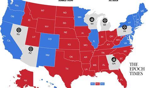 アメリカ 大統領 開票 速報