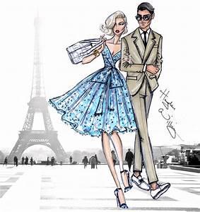 Jet Set Paris : hayden williams fashion illustrations jet set parisian getaway by hayden williams ~ Medecine-chirurgie-esthetiques.com Avis de Voitures