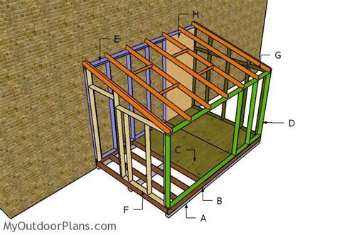 attached greenhouse plans myoutdoorplans