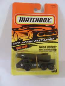 Matchbox Nasa rocket transporter #60 1995 | jimmy tyler ...