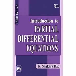 Manual Sankara Rao Partial Diffrentian Aquation