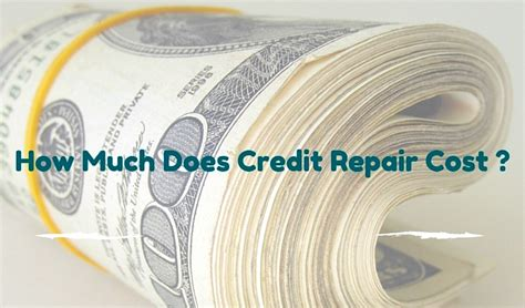 How Much Does It Cost To Repair A Garage Door by How Much Does Credit Repair Cost Detail Analysis
