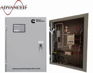 Cummins Gtec Diesel Generator Ats Panels From Advanced