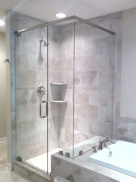 frosted shower doors ideas  pinterest shower