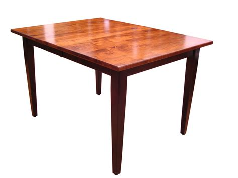 shaker style plymouth table ohio hardwood furniture