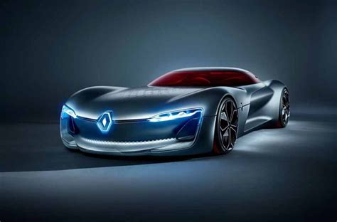 renault trezor renault trezor sports coupe concept unveiled at paris