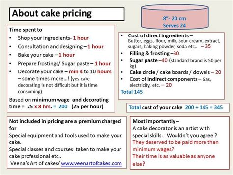 bureau price wilton cake pricing chart cake serving chart and pricing